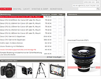 Prolightrent Photoequipment rental